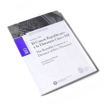 <b>2016</b> <em>research assistance & edition</em><br><em> The republic canon at a distance of five thousand</em> Josep Parcerisa & José Rosas