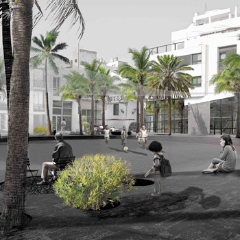 <b>2018</b><em> Honorary Mention</em><br> Lanzarote Dynamic Square<br>Lanzarote