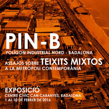 <b>2016</b><br><em> PIN-Badalona. Mixed urban fabric in the contemporary metropolis</em>